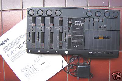 Yamaha MT-100 4-track cassette recorder